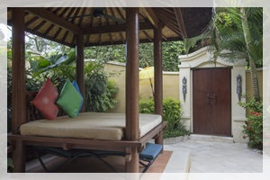 Beautiful Villa in Sanur #6573 - Garden and Pool area