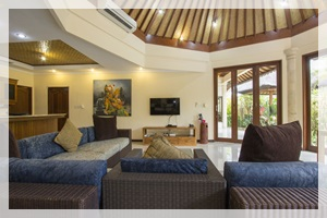 Beautiful Villa in Sanur #6573 - Living area