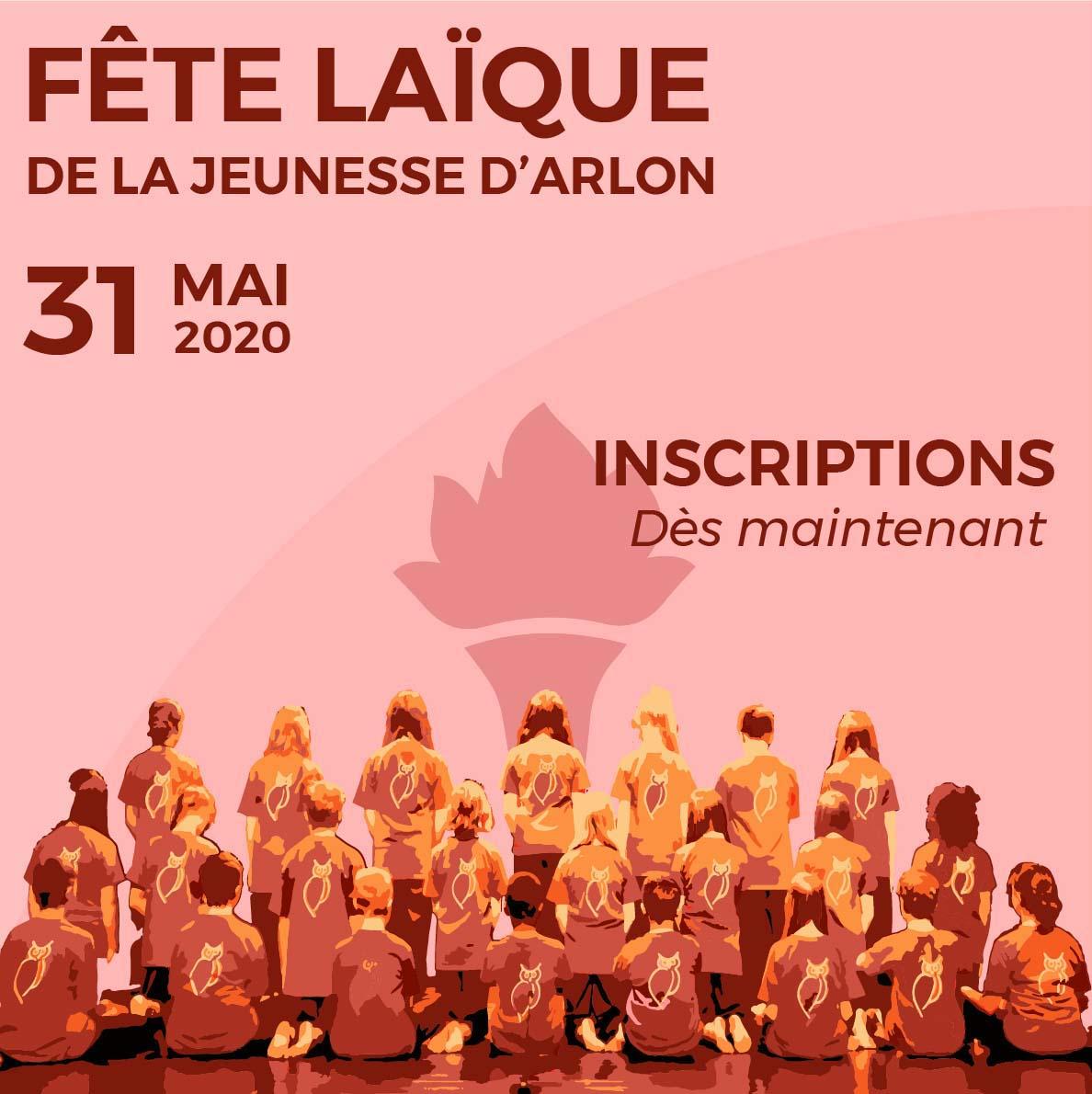 Fête Laïque de la Jeunesse des communes d'Arlon, d'Attert, de Fauvillers, de Habay, et de Martelange