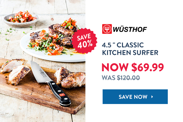 "Save 40% Off Wusthof 4.5"" Classic Kitchen Surfer"