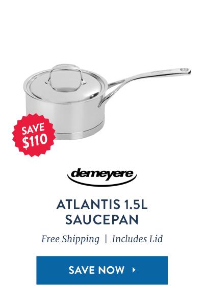Demeyere 1.5L Saucepan: Save $110