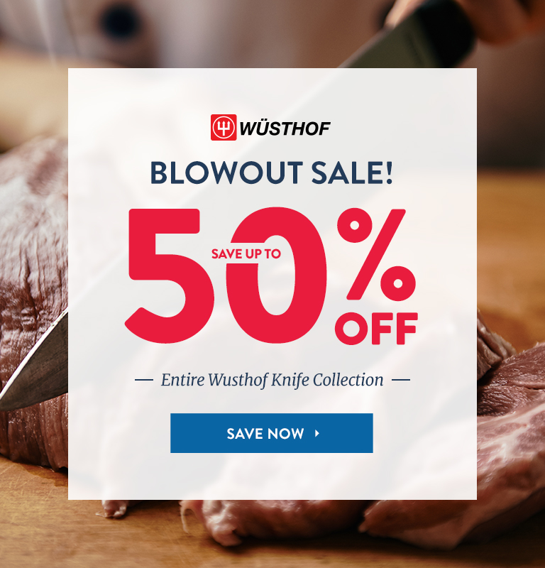 Save Up To 50% Off Wusthof Knife Collection