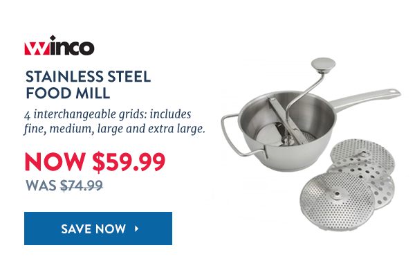 Winco Food Mill: Just $59.99