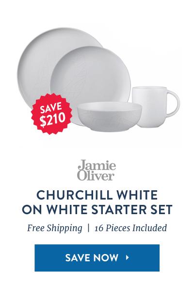 Jamie Oliver White Set: Save $210