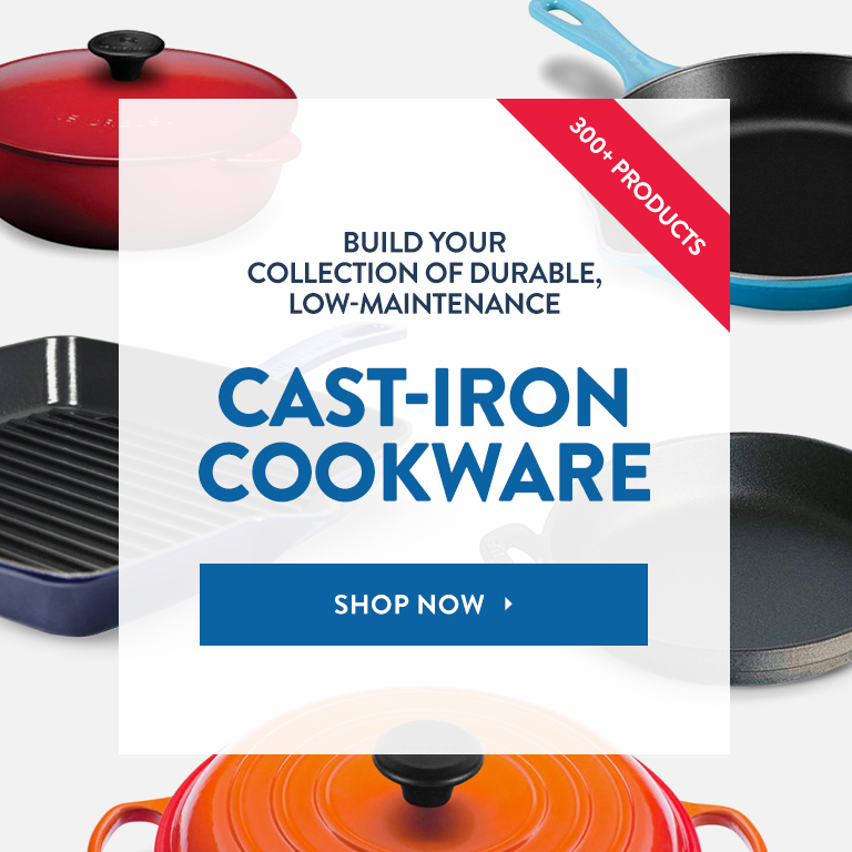 Shop 300+ Cast-Iron Cookware Products