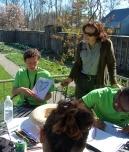 Green Teens create garden designs at Bellefield