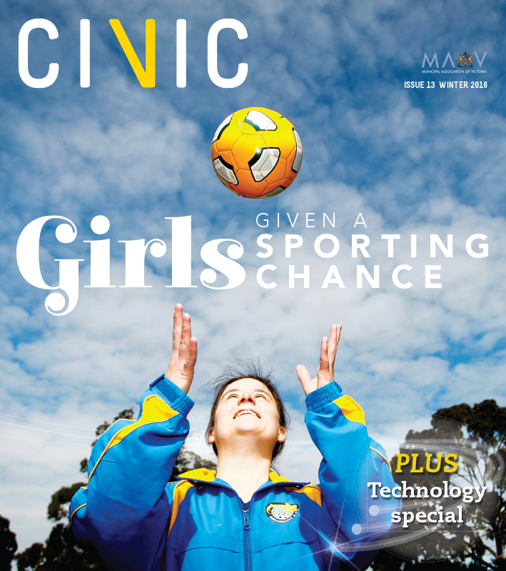 Cover of CiVic Issue 13 - Winter 2016