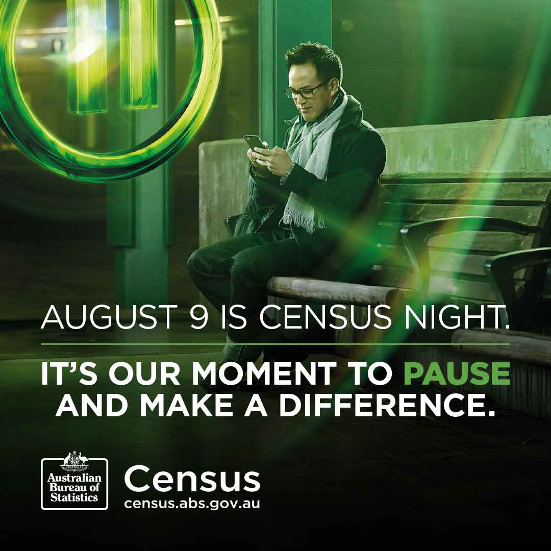 August 9 is Census night