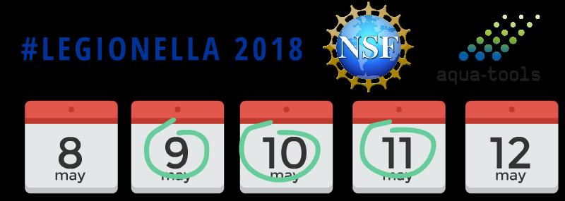 Legionella2018.org Calendar