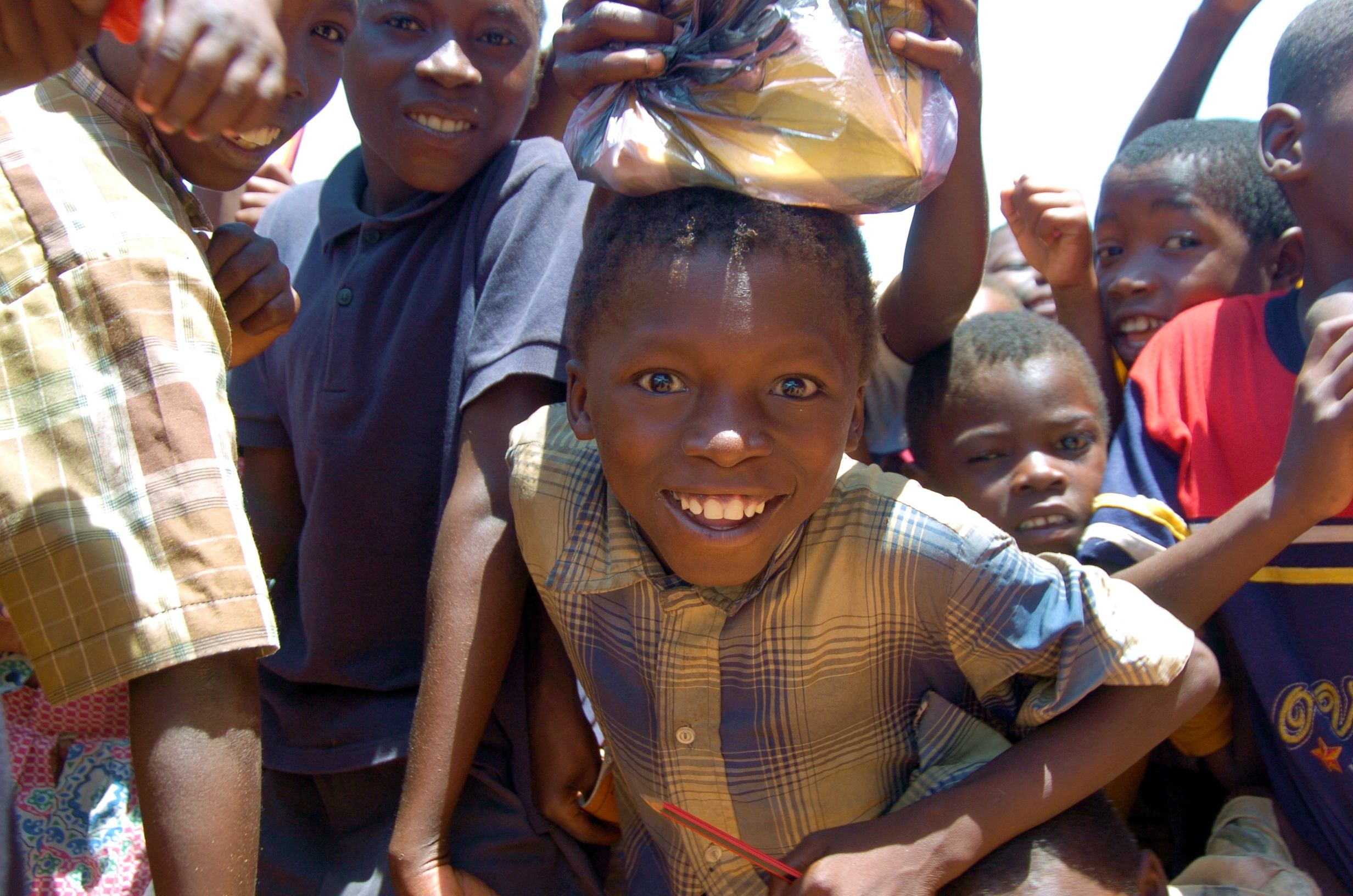 Children in Mozambique