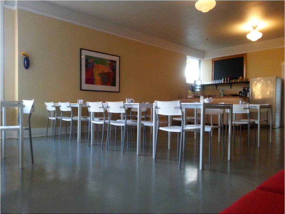 Arugularium dining room