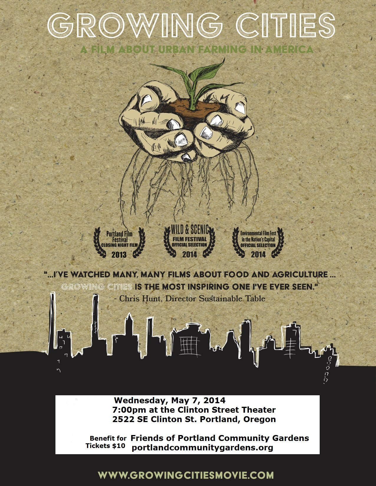 Growing Cities - A Film about Urban Farming