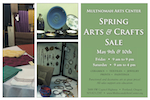 Spring Arts & Crafts Sale postcard