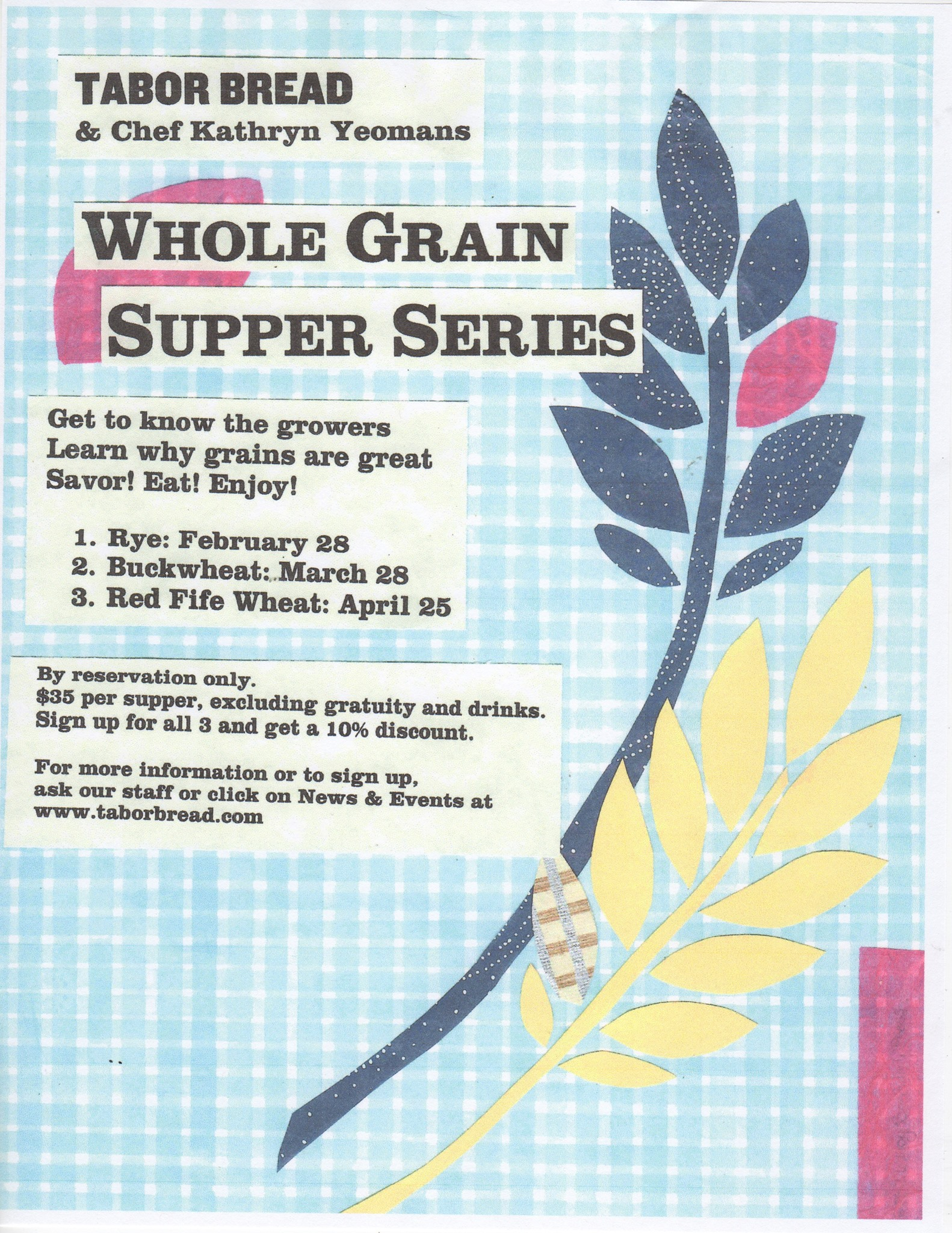 Whole Grain Supper Series