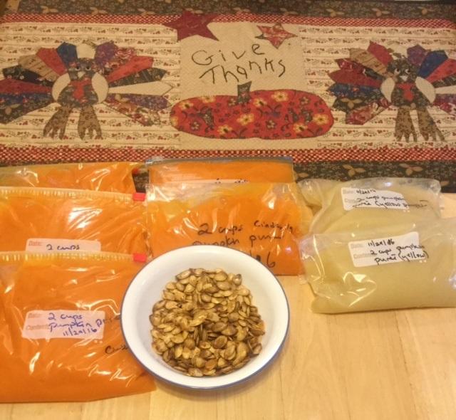 Pumpkin Seeds Are Tasty Roasted!