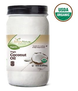 Simply Nature Coconut Oil