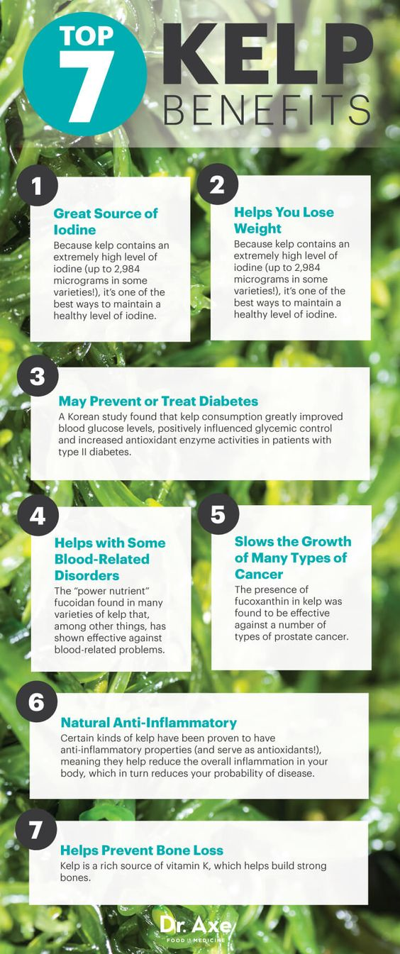 Top 7 Kelp Benefits