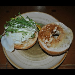 Egg Sprout Bagel