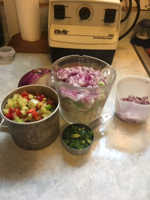 Measured Out Ingredients