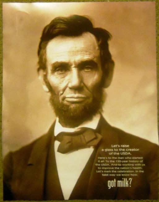 Abraham Lincoln - Creator of The USDA