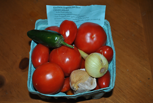 Box of Ingredients