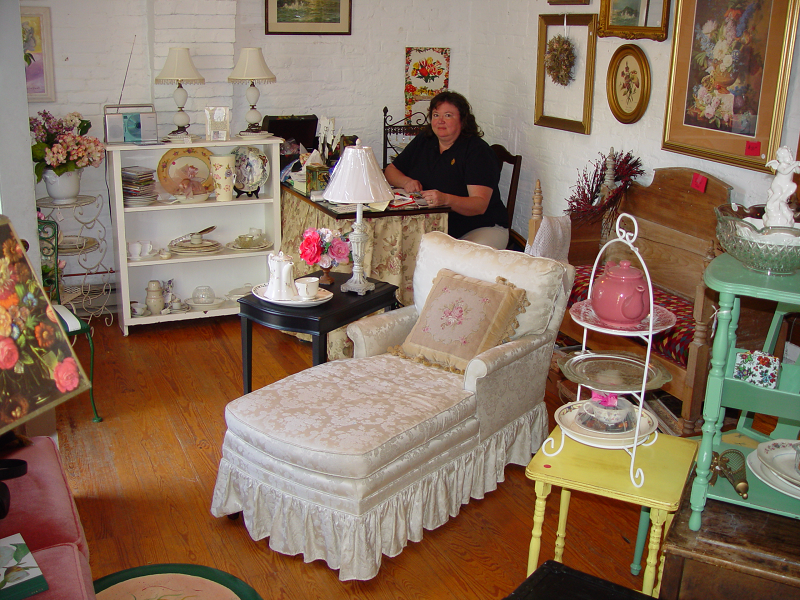 Molly At Her Shop The Cottage Room