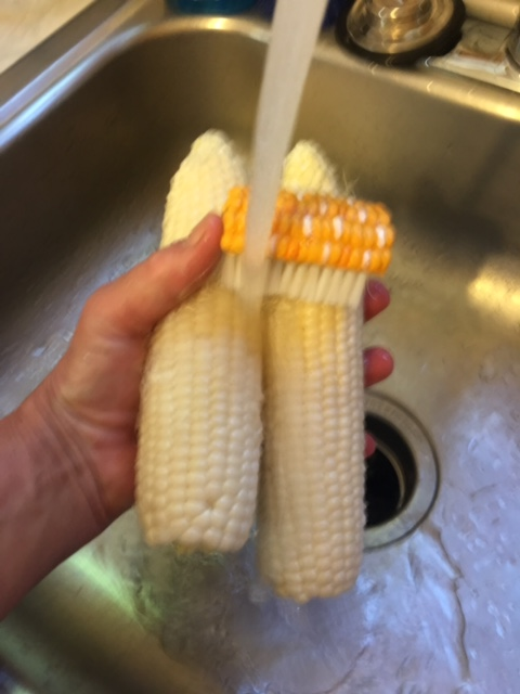 Cleaning Corn
