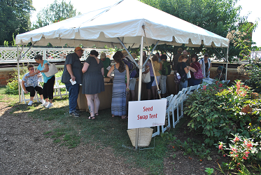 Seed Saver Tent At Monticello