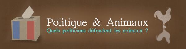 Bannière Politique & Animaux