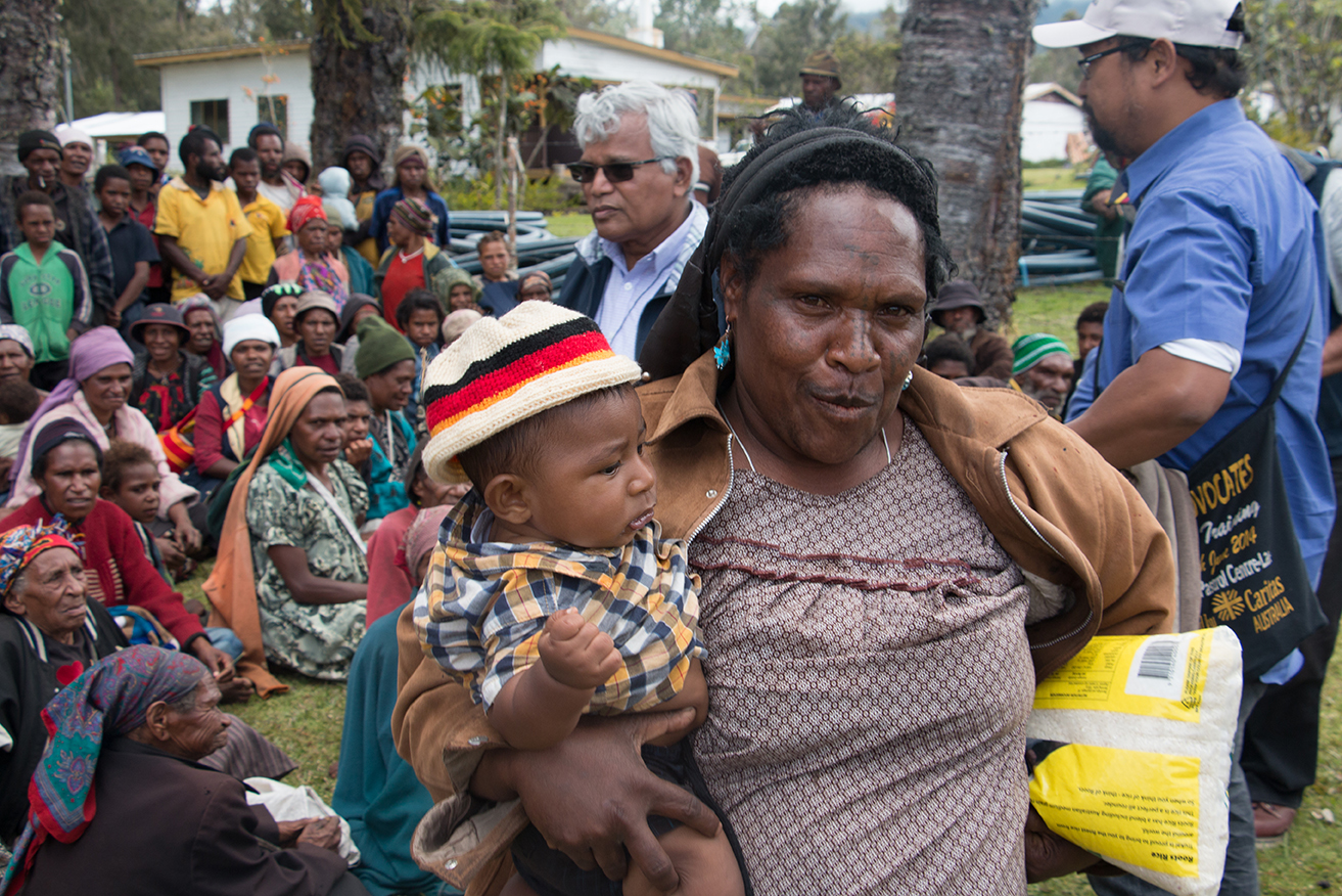 Food shortages in PNG