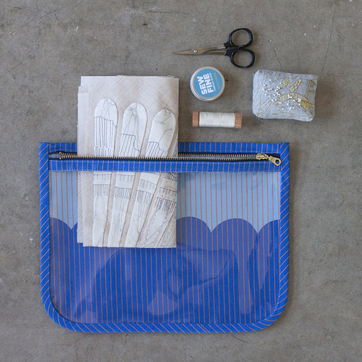 Sew It All Pouch in Harriot