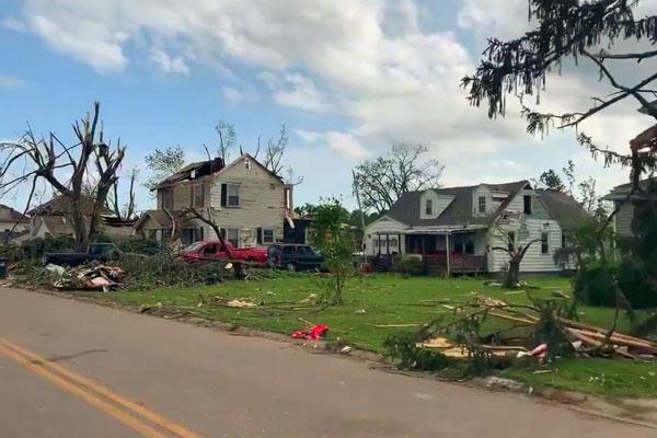 Dayton tornados create widespread damage