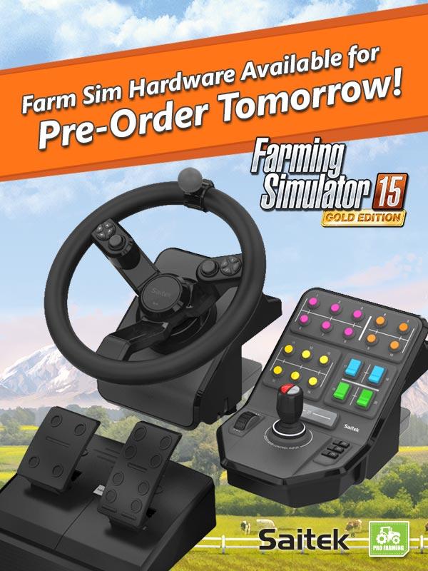 Pre-order your farm sim hardware