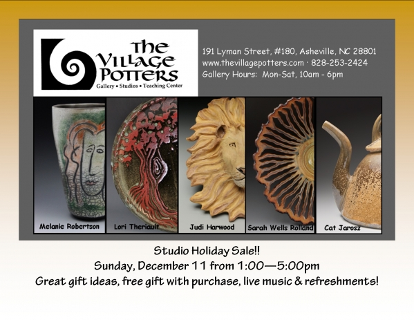 The Village Potters Holiday Sale