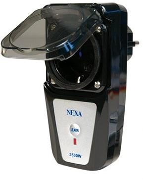 Nexa LGDR-3500 kauko-ohjattava virtakytkin ulkokäyttöön