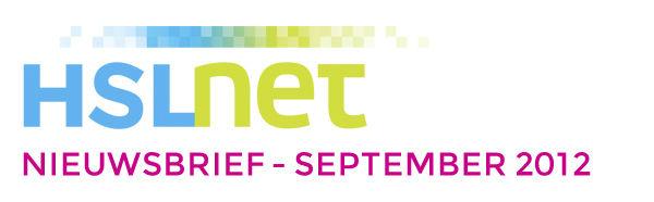 HSLnet nieuwsbrief september 2012