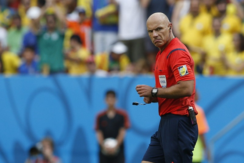 Howard Webb - World Cup referee.