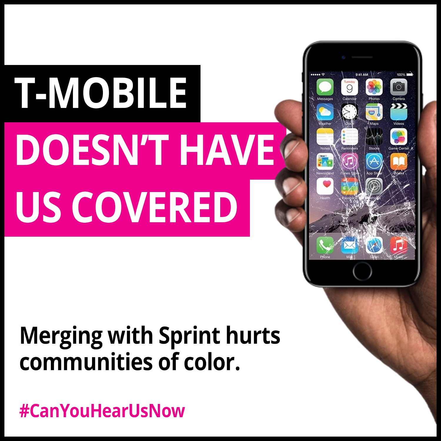 T-Mobile doesn't have us covered.