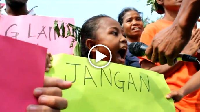 200 Orang Asli Protest Logging