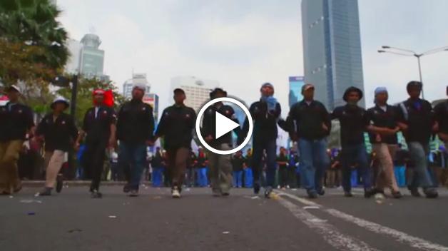 Bekasi Workers Fight Back