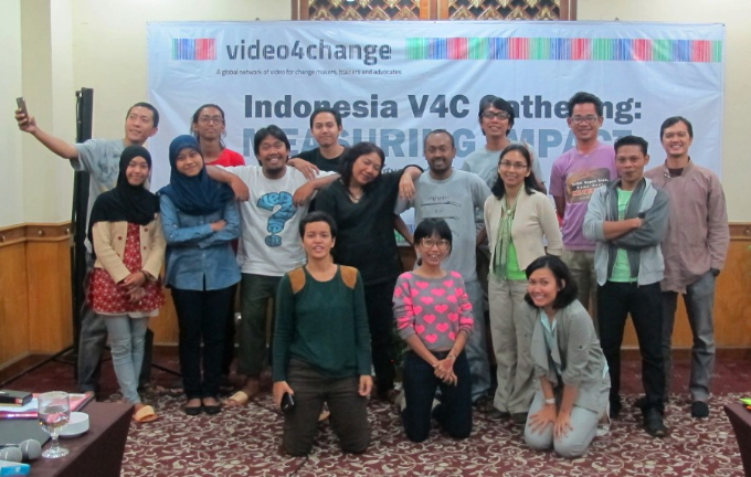 video4change Indonesia gathering