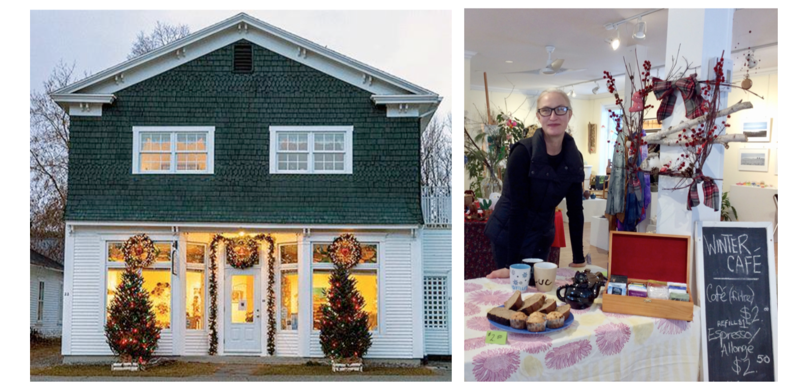 Christmas Exhibition & Return of the Saturday Morning Café @ Studio Georgeville | Georgeville | Quebec | Canada