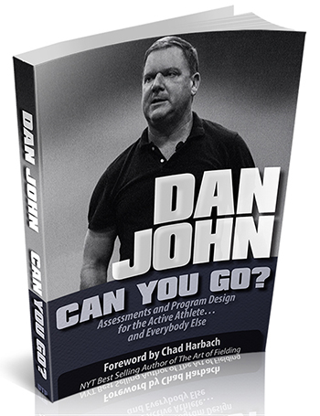 Image of Dan John's new book Can You Go