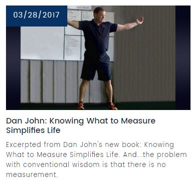 Dan John: Knowing what to measure