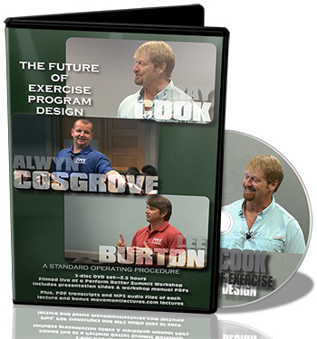 Click for The Future of Exercise Program Design DVD info