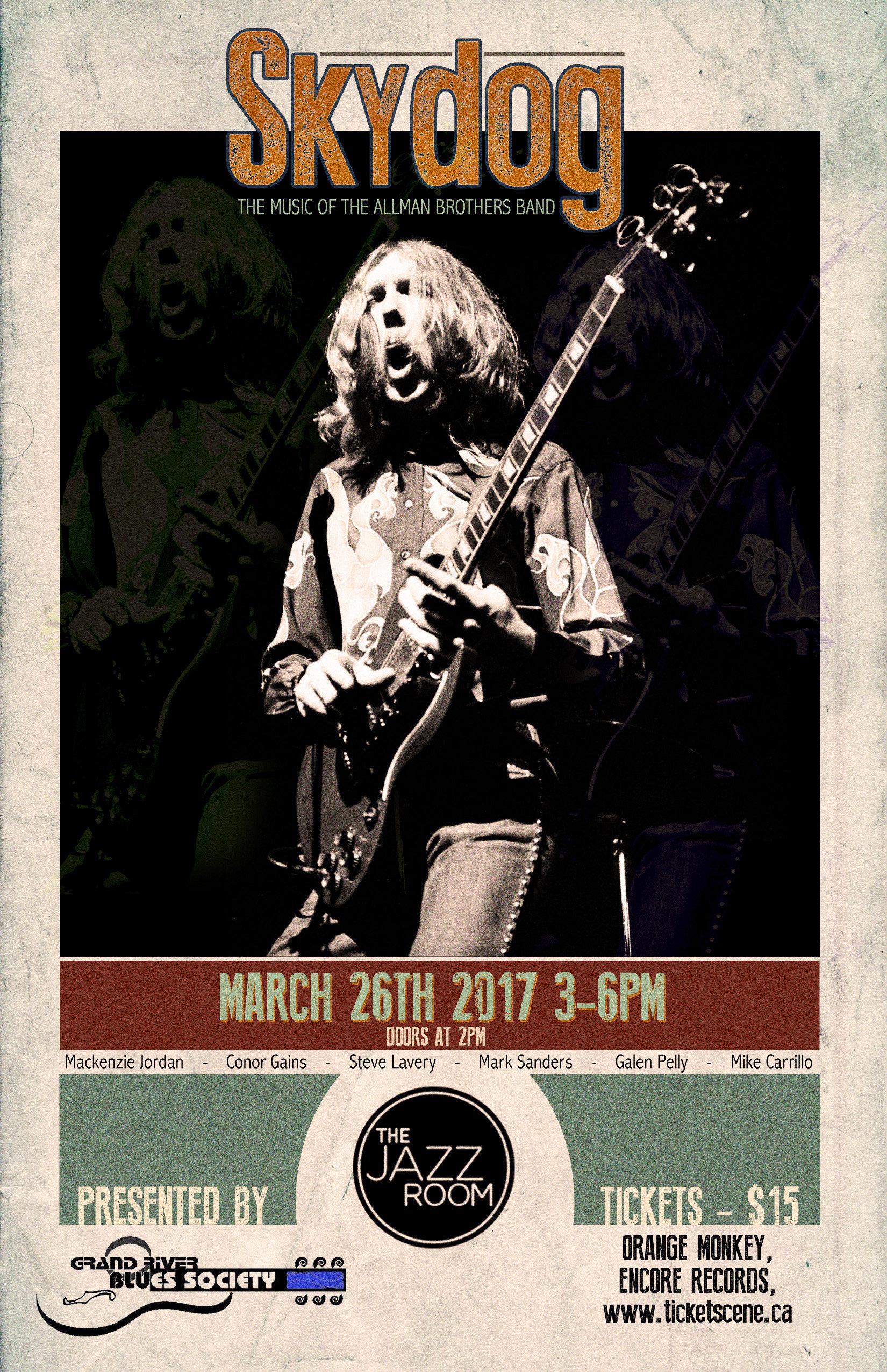Grand River Blues Society 14th Anniversary Show