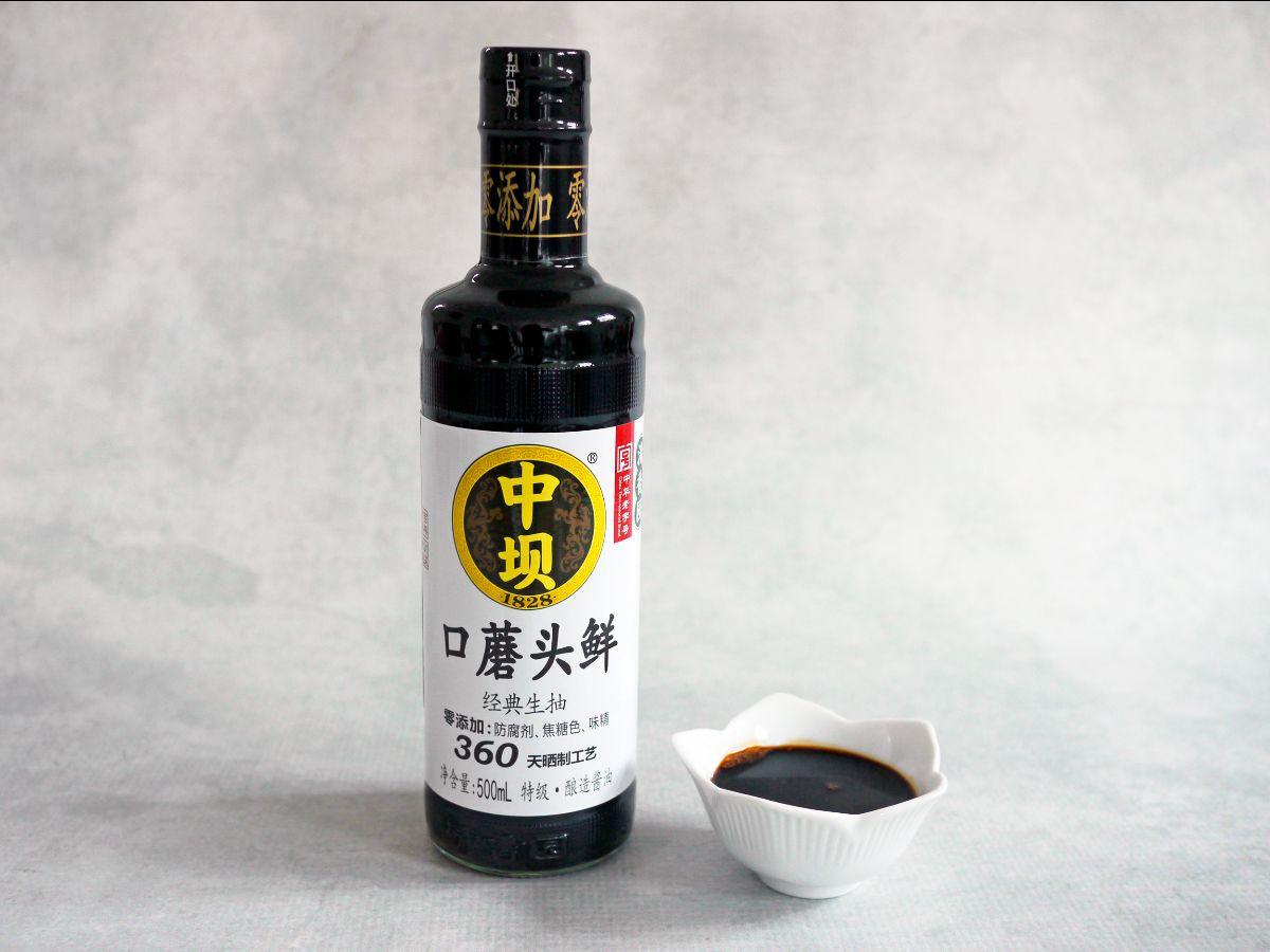 Zhongba light soy sauce