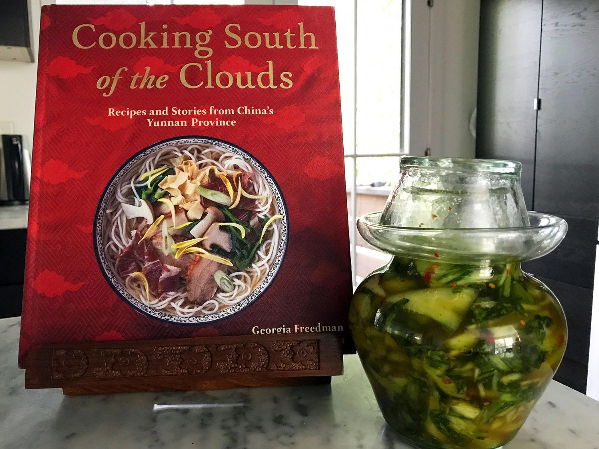 Yunnan cookbook and pickles