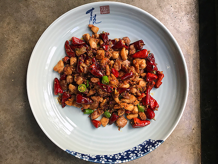 Chongqing chicken by The Mala Project