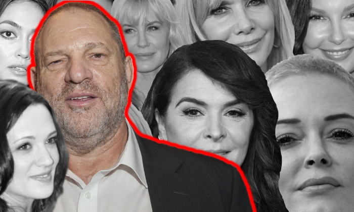 Harvey Weinstein and his accusers